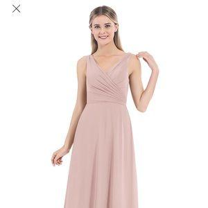 Azazie Nala Bridesmaids Dress in Dusty Rose Sz 4